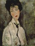 Jeanne Hebuterne-Amedeo Modigliani-Giclee Print