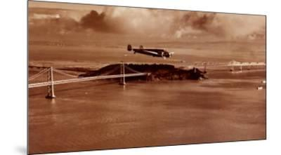 Amelia Earhart in Flight, Oakland to Honolulu, March 17, 1937-Clyde Sunderland-Mounted Print