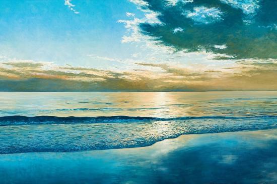 Amelia Island Dawn-Kent Sullivan-Art Print