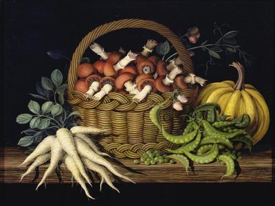 Basket of Mushrooms, 1997