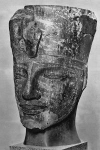 Amenhotep III (1390 BC-1352 B), Ancient Egyptian Pharoah, 1936