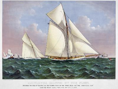 America's Cup, 1886-Currier & Ives-Giclee Print