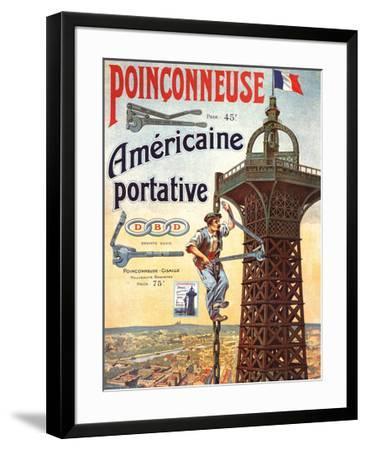 Americaine Portative--Framed Art Print