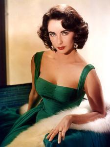 American Actress Elizabeth Taylor C. 1959