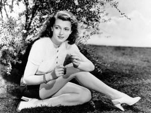 American Actress Lana Turner (1920-1995) in 1938