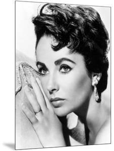 American Actress Liz Taylor C. 1954