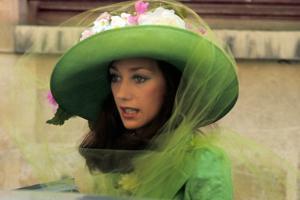American Actress Marisa Berenson, Paris, 1975