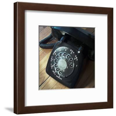 American Antiques: Telephone-Nicolas Hugo-Framed Giclee Print