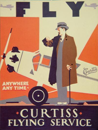 American Aviation Poster, 1928--Giclee Print