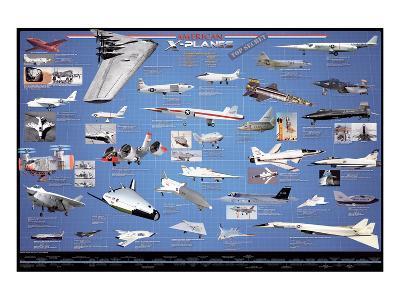 American Aviation - X-Planes--Art Print