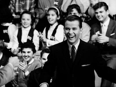 """American Bandstand"" Host Dick Clark--Premium Photographic Print"