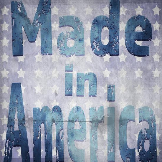 American Born Free Sign Collection V4-LightBoxJournal-Giclee Print