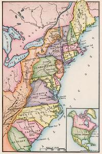 American Colonies at the Outbreak of the Revolution