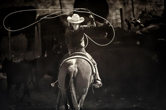 American Cowgirl-Lisa Dearing-Photographic Print