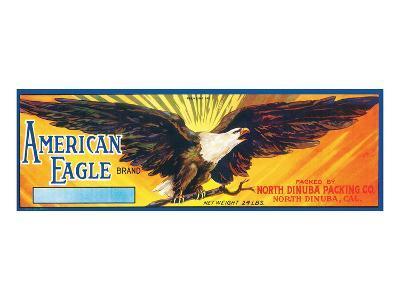 American Eagle Brand--Art Print