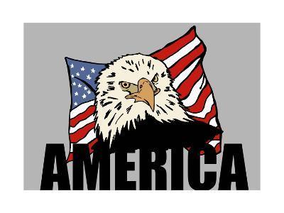 American Eagle-Logan81-Art Print