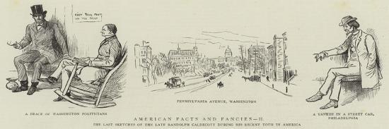 American Facts and Fancies, II-Randolph Caldecott-Giclee Print