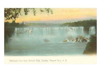 American Falls, Niagara Falls, New York--Art Print