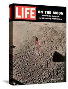 American Flag Planted on Moon, August 8, 1969