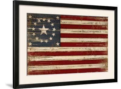 American Flag-Jennifer Pugh-Framed Photographic Print