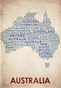 Australia by American Flat
