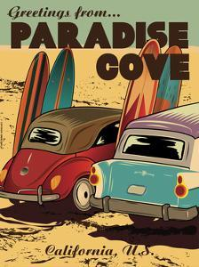 Paradise Cove by American Flat