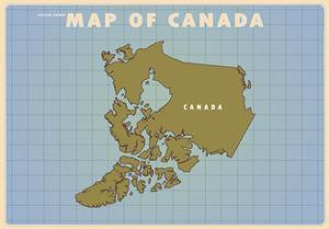 Upside Down Canada by American Flat