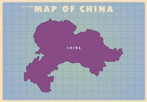Upside Down China by American Flat