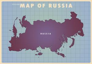 Upside Down Russia by American Flat