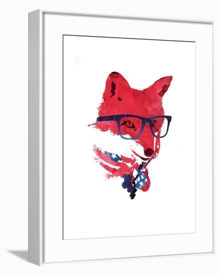American Fox-Robert Farkas-Framed Art Print