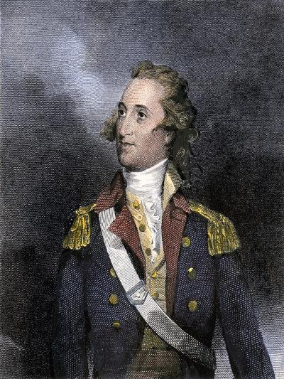 American General Thomas Pinckney, Revolutionary War--Giclee Print