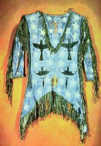 'Ghost Dance' Dress, Arapaho Tribe (Buckskin) by American
