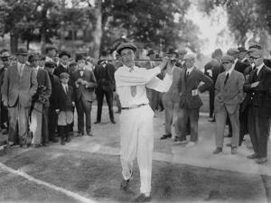 American Golfer Francis Desales Ouimet at the 1913 U.S. Open in Brookline