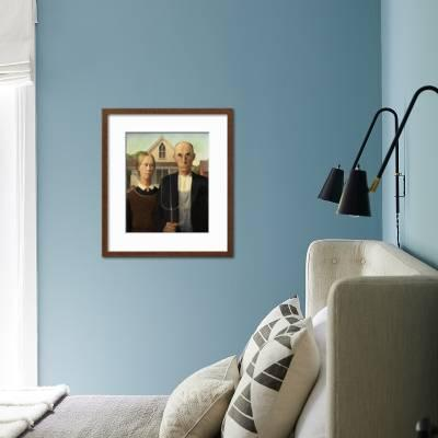 wall art decor for living room.htm american gothic  1930  giclee print grant wood art com  american gothic  1930  giclee print