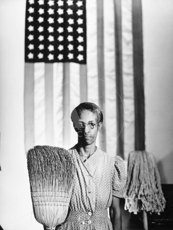 American Gothic 1942 Giclee Print By Gordon Parks