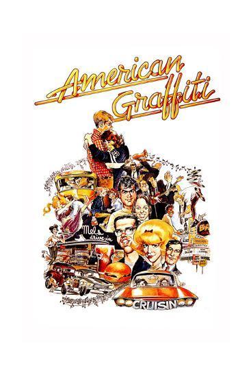 American Graffiti, 1973--Giclee Print