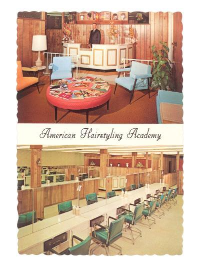 American Hairstyling Academy--Art Print