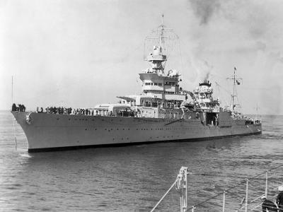 American Heavy Cruiser Uss Indianapolis--Photographic Print