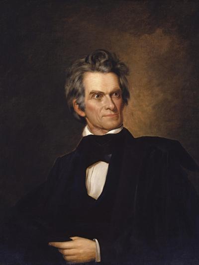 American History Print of U.S. Vice President and Senator John C. Calhoun-Stocktrek Images-Art Print