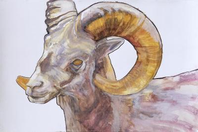 American Long Horn, 2004-Lou Gibbs-Giclee Print