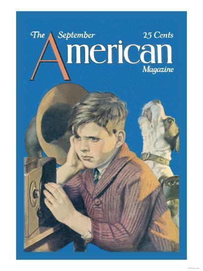 American Magazine: Canine Tuning--Art Print