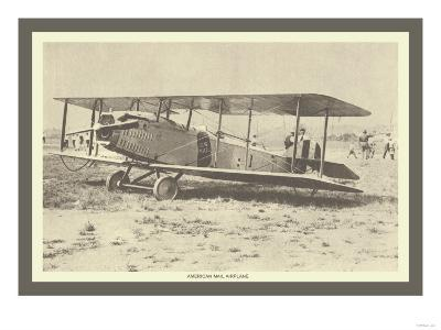 American Mail Airplane--Art Print