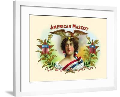 American Mascot--Framed Art Print