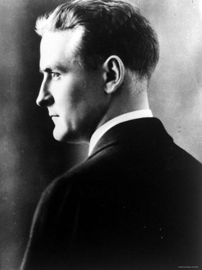 American Novelist Francis Scott Key Fitzgerald--Premium Photographic Print