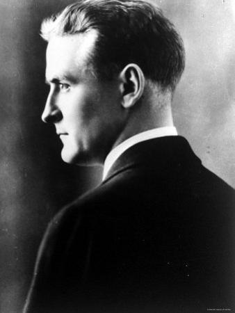 American Novelist Francis Scott Key Fitzgerald