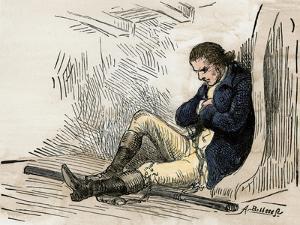 American Patriot Ethan Allen Imprisoned after His Capture in Montreal, 1775-1778