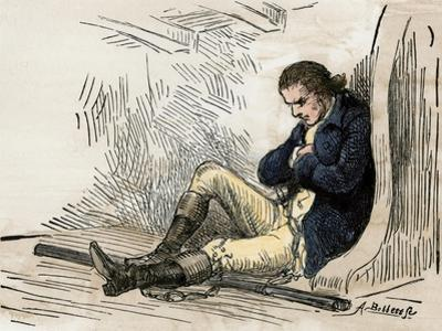American Patriot Ethan Allen Imprisoned after His Capture in Montreal, 1775-1778