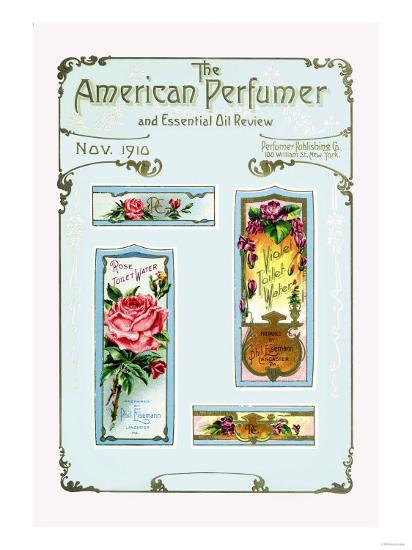 American Perfumer And Essential Oil Review November 1910 Art Print Art Com