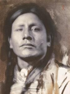 A Sioux Chief, c.1898 by American Photographer