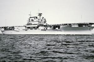 American Aircraft Carrier, Uss Yorktown, 1937 by American Photographer